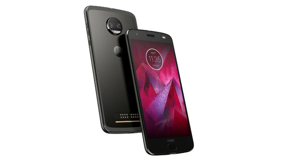 Moto Z2 Force is available in 'Super Black' colour