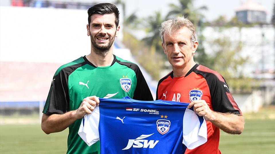 Bengaluru FC,Daniel Segovia,Indian Super League
