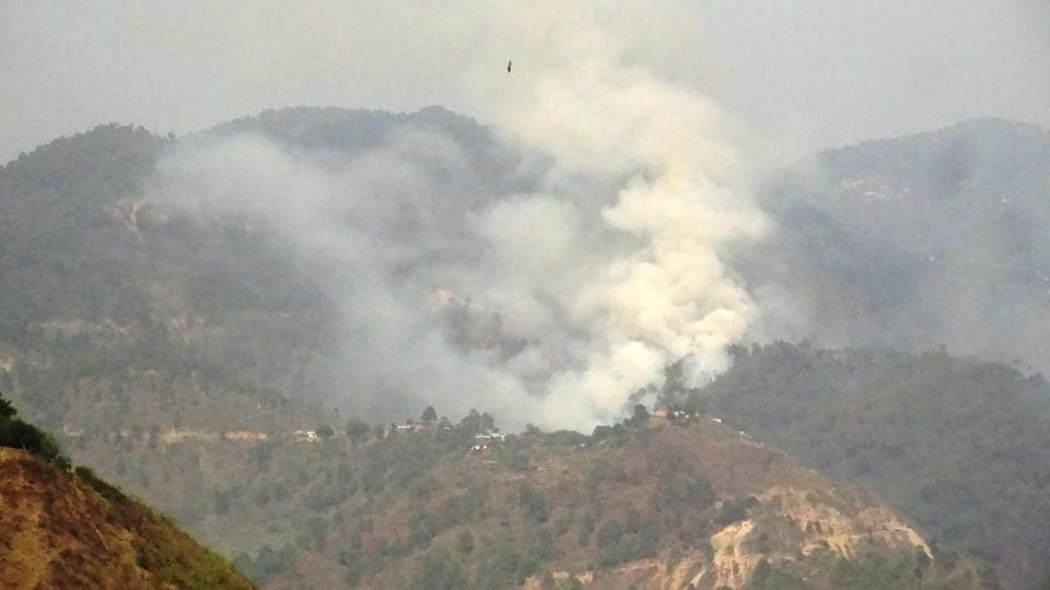 Shifting cultivation is the main reason for fire incidents in the northeast.