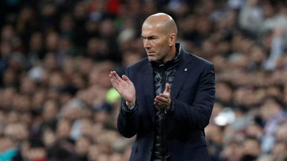 Real Madrid coach Zinedine Zidane says there is still life left in their Champions League Round of 16 clash against Paris Saint-Germain.