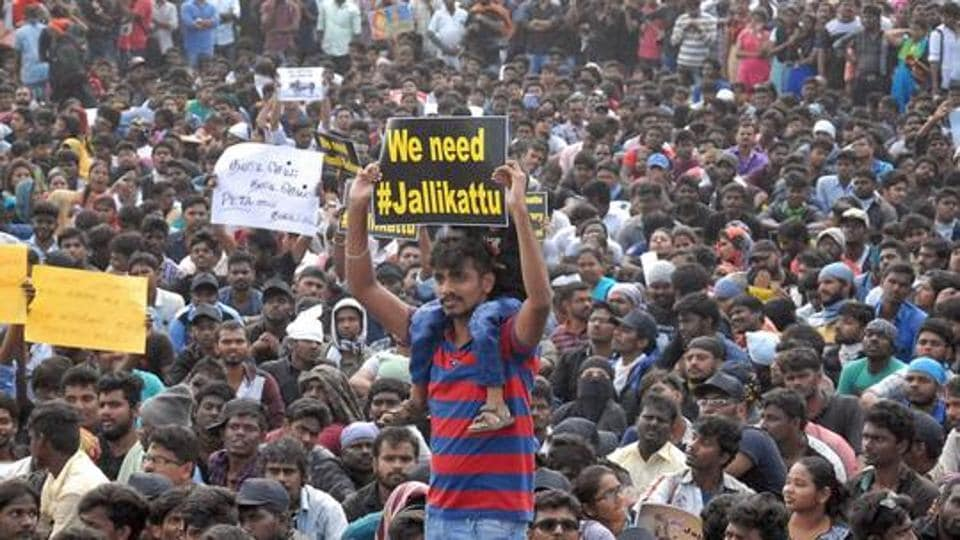 Union minister and senior BJP leader Pon Radhakrishnan said  violence during last years agitation in support of jallikattu showed extremist elements had joined hands in Tamil Nadu.