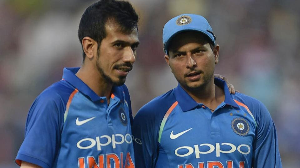 Yuzvendra Chahal (L) and Kuldeep Yadav have been in imperious form for India in the ODI series against South Africa.