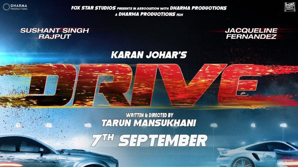 Drive, starring Sushant Singh Rajput and Jacqueline Fernandez, has been shot in Israel.