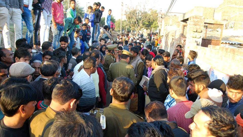 Police said that after hacking the woman to death in Vijay Nagar area of Modi Nagar, Sharma walked over to the police station with the murder weapon and surrendered himself.