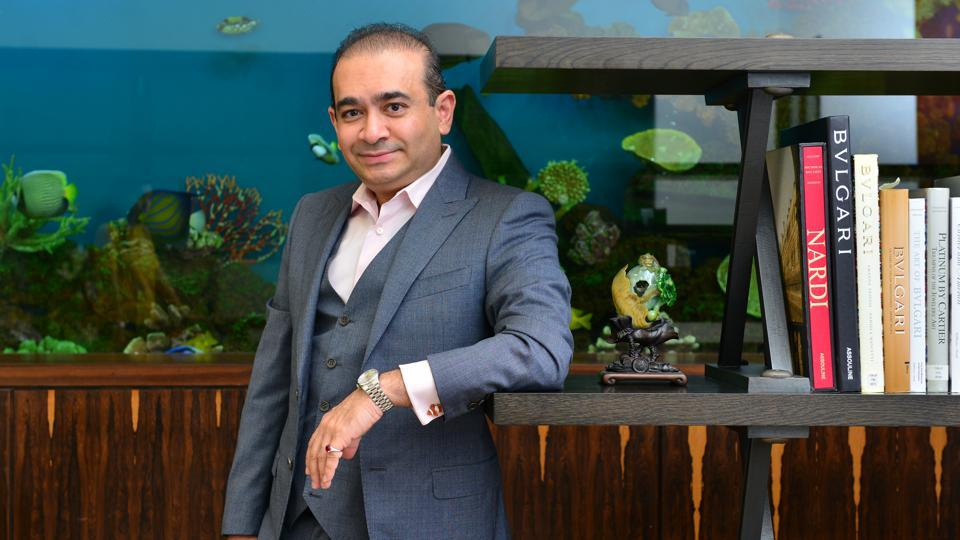 Jewellery designer Nirav Modi at his Mumbai office.