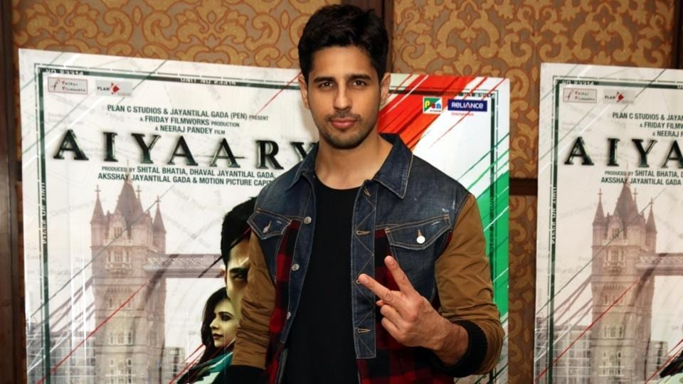 Siddharth Malhotra at launch of cofee table book