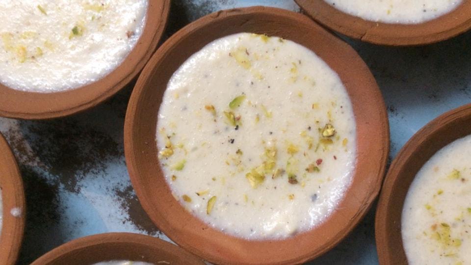 Tried and Tasted,Old Delhi food,Phirni