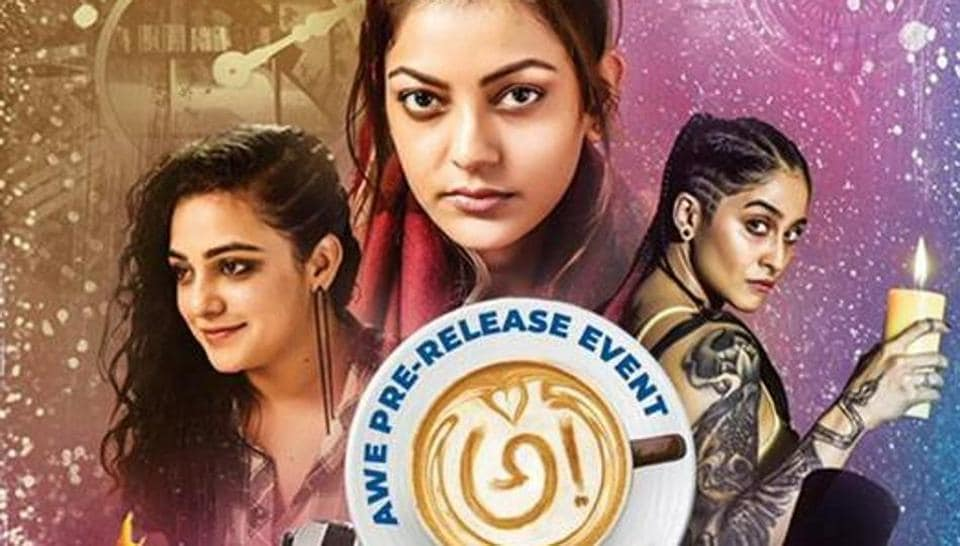 Awe! starring Kajal Aggarwal, Nithya Menen and Regina Cassandra, shines because of the sheer capacity of its director Prasanth Varma.