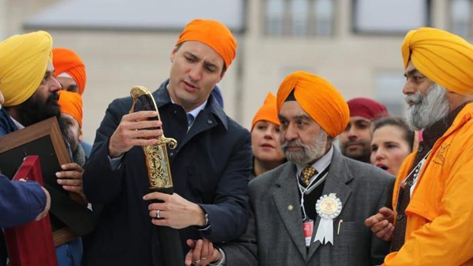 Khalistan,Justin trudeau,trudeau in India