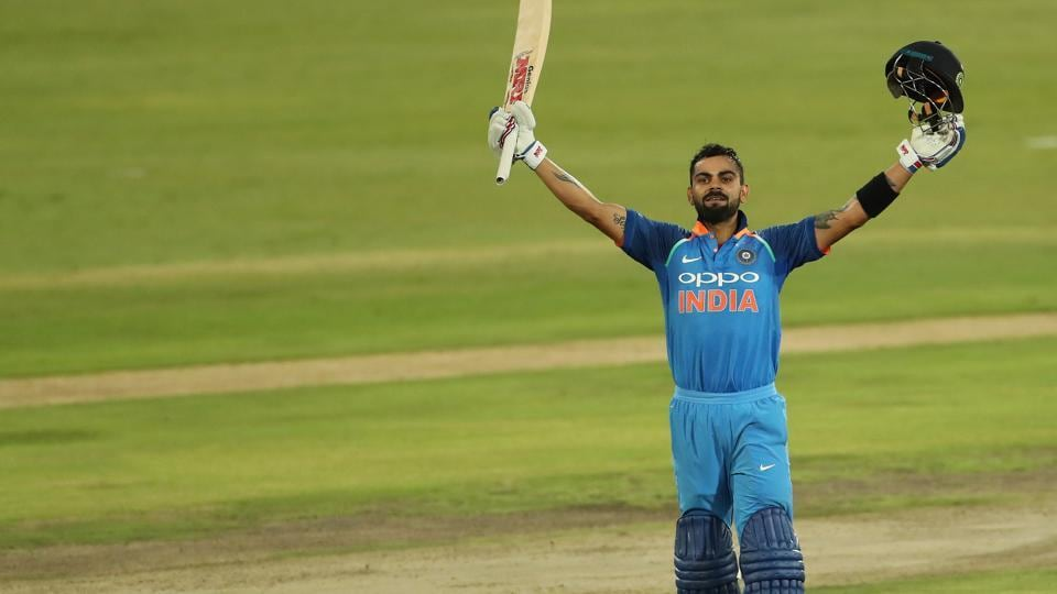 Virat Kohli's 35th century helped India thrash South Africa by eight wickets to win the six-match ODI series 5-1.  (BCCI )