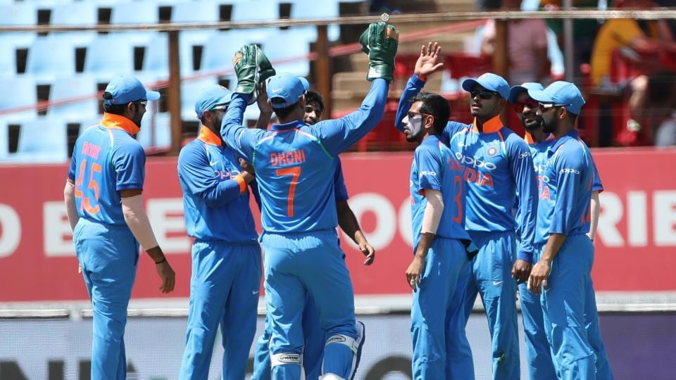 Thakur then removed Markram (for 24) as South Africa were 43/2 at the end of the powerplay.  (BCCI )