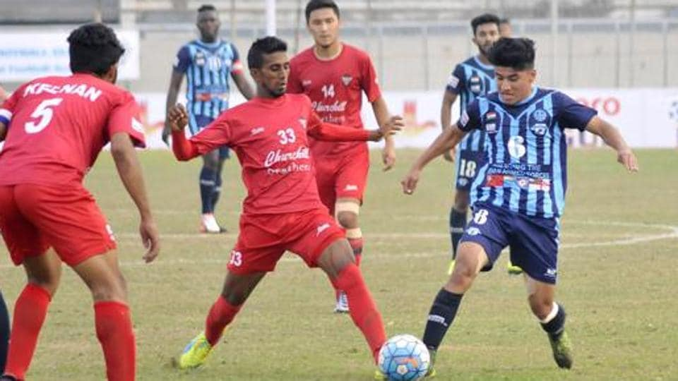 Churchill Brothers will face relegation-threatened Chennai City FC in I-League onSaturday.