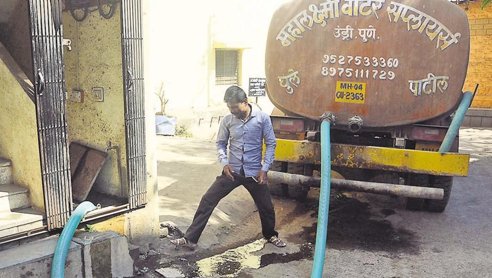 undri,expanding pune,water scarcity
