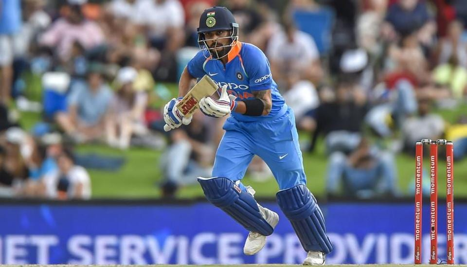 Indian cricket team captain Virat Kohli during the sixth ODI against South Africa cricket team at Centurion on Friday.
