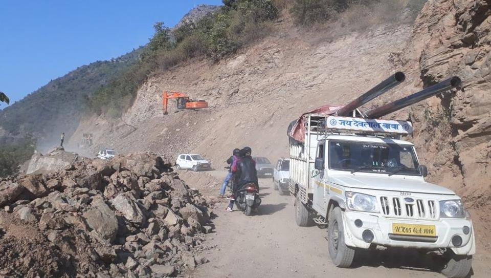 Kathgodam-Nainital highway,Haldwani,NHAI