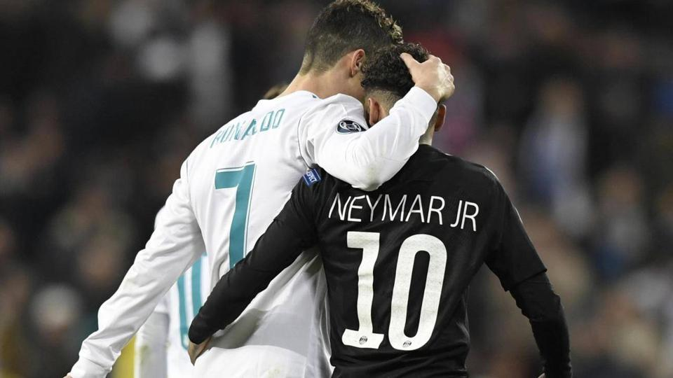 Cristiano Ronaldo,Neymar,FCBarcelona