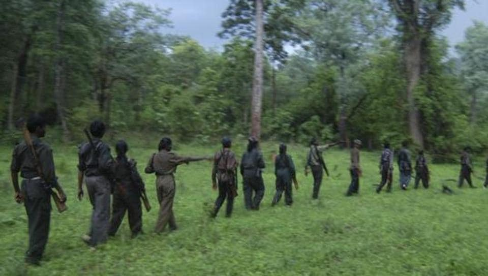 Police said more than 20 Maoists attacked the forest officials at two outposts in the park.