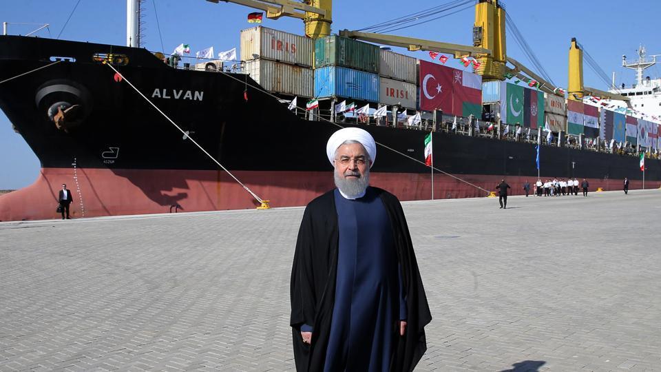 India-Iran ties,Chabahar port,Hassan Rouhani