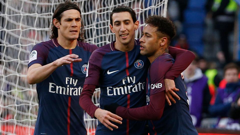 Paris Saint-Germain,Edinson Cavani,Neymar