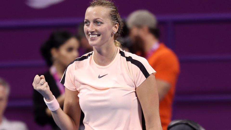Kvitova reigns supreme in Qatar to clinch top 10 spot