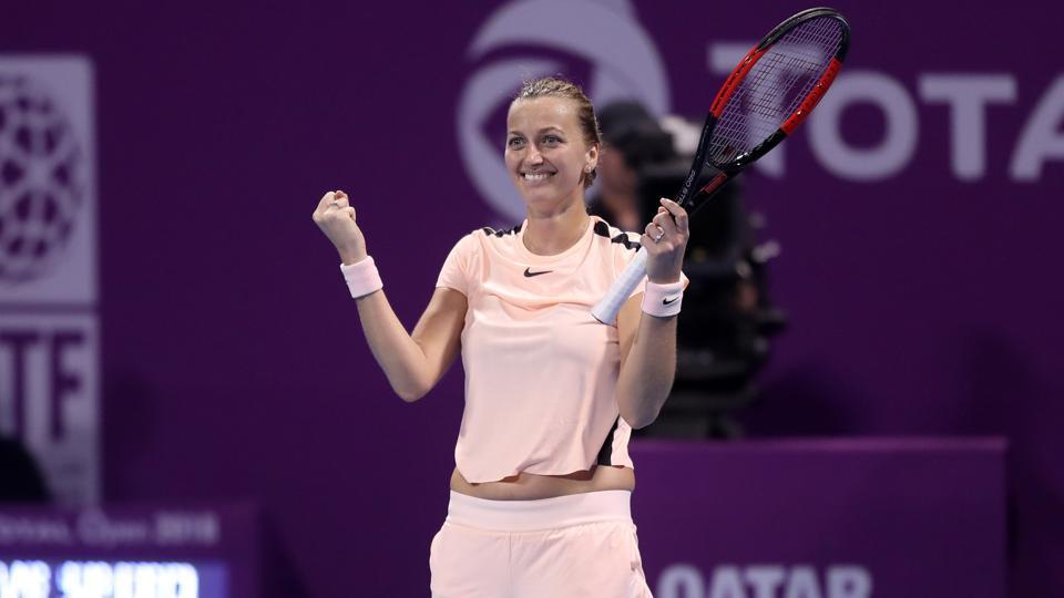 Qatar Open: Petra Kvitova beats Garbine Muguruza to win title