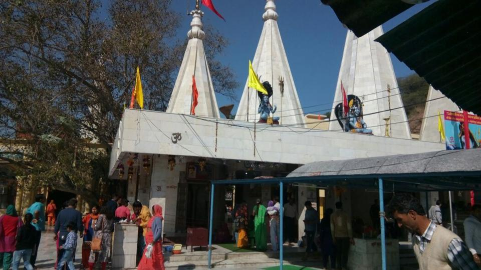 The temple, situated in Saketri near Panchkula, has 32 CCTV cameras installed inside its campus.