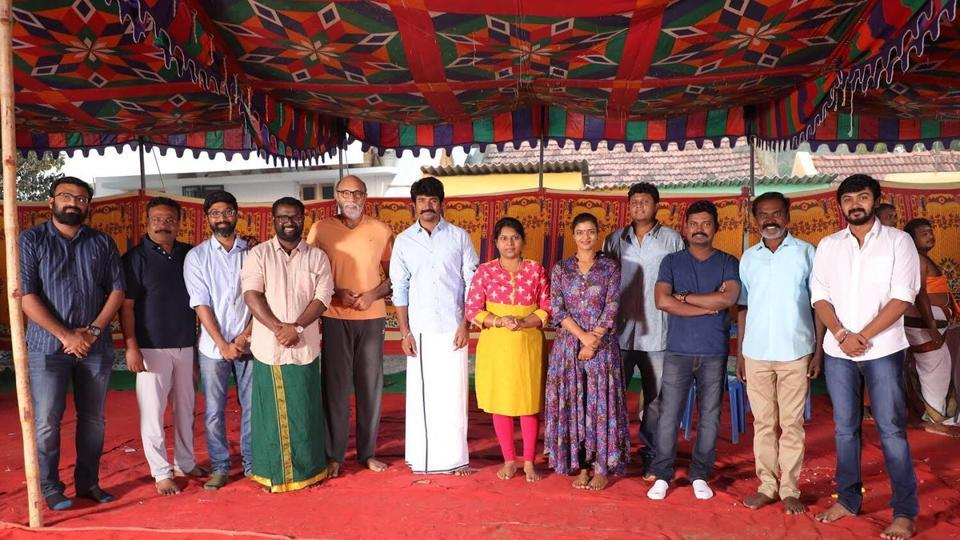 Ssivakarthikeyan begins work on his debut production venture.