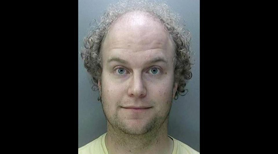 This handout photo issued by the National Crime Agency shows Dr Matthew Falder, who admitted to 137 offences, including encouraging the rape of a four-year-old boy.