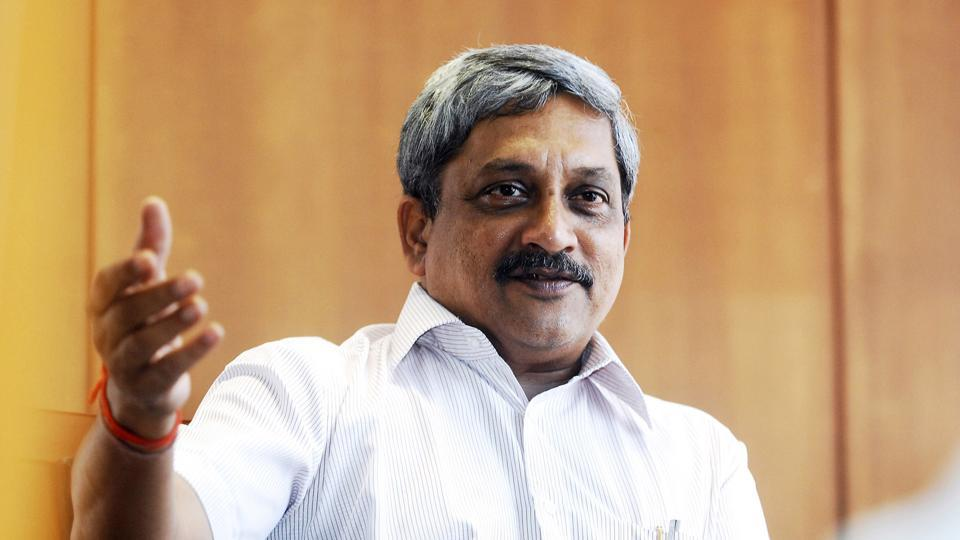 Sources close to Goa chief minister Manokar Parrikar said he suffered food poisoning after lunch on Thursday and was admitted for a routine check-up