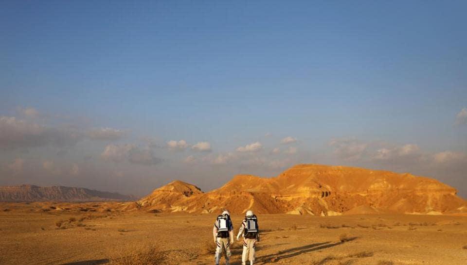 Israel,Mock Mars mission,Negev desert