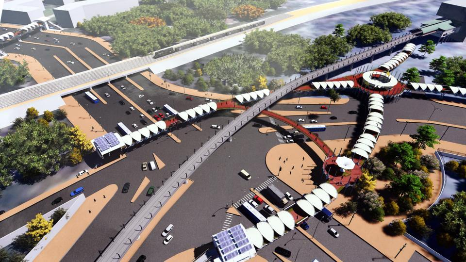 Skywalk at Delhi's ITO crossing delayed, may not open before May