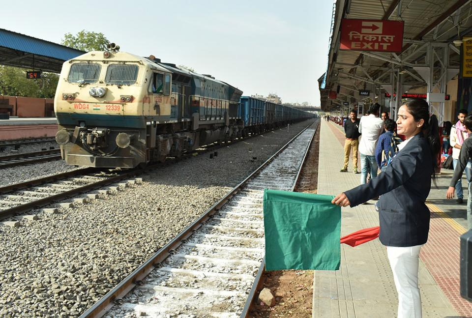 Rajasthan news,Gandhi Nagar railway station,major railway station to be fully-managed by women