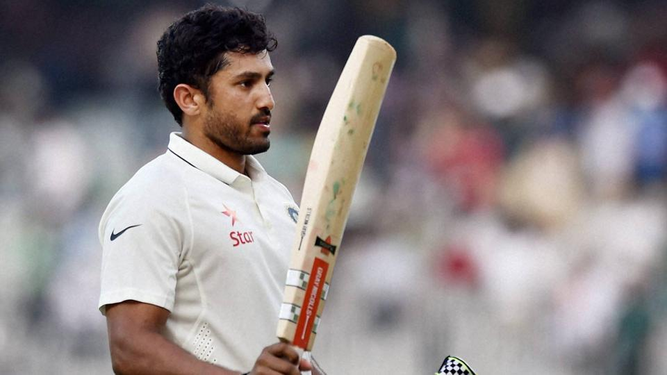 Karun Nair is only the second Indian batsman to score a triple-century in Tests.
