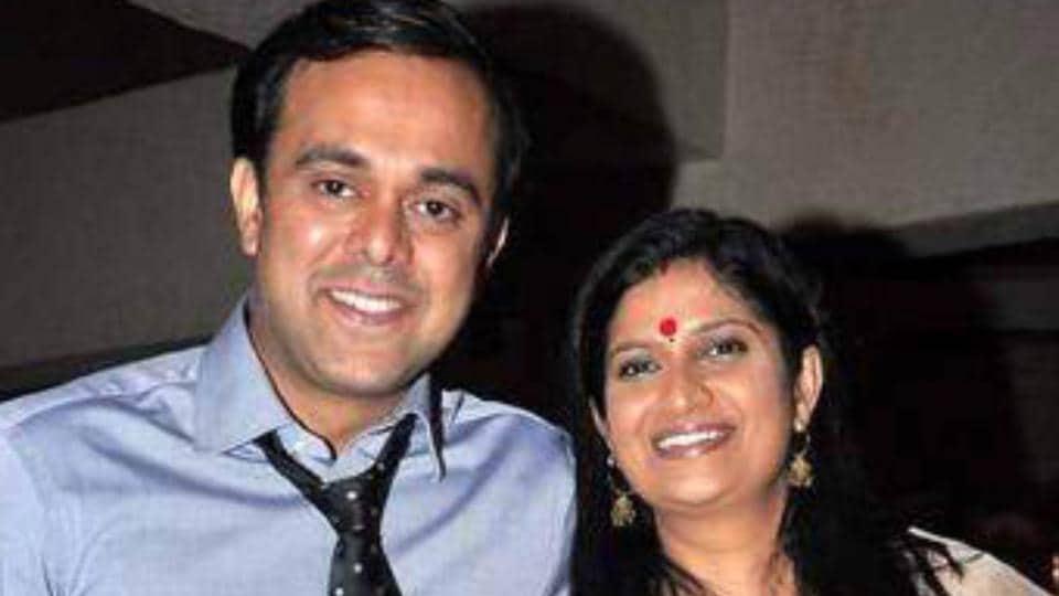 Actor Sumeet Raghavan with wife Chinmayee Sumeet
