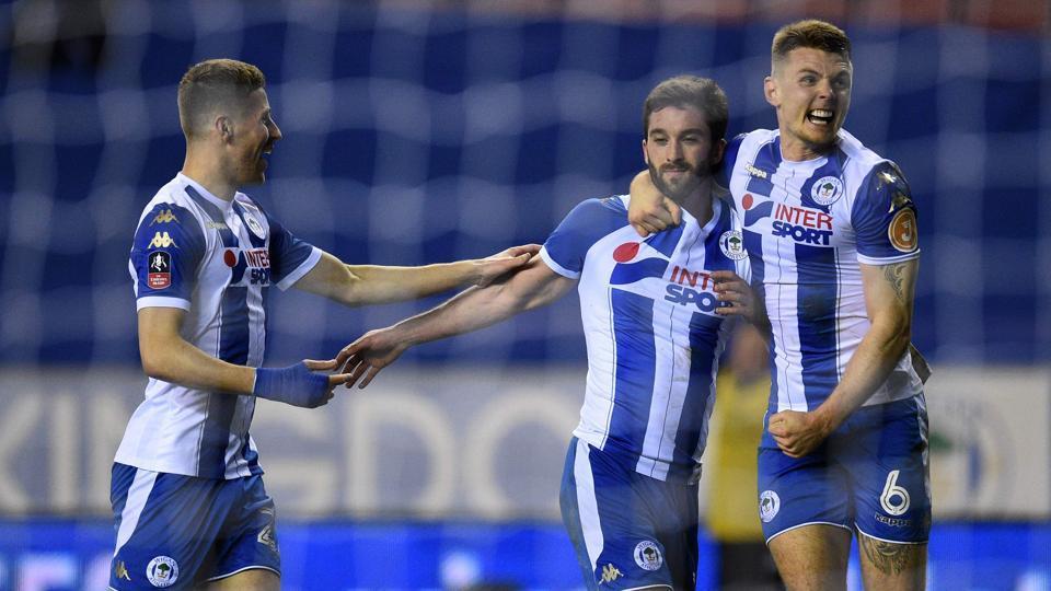 ae9d8c91bf6b Wigan Athletic crush Manchester City s quadruple dream with 1-0 FA Cup win