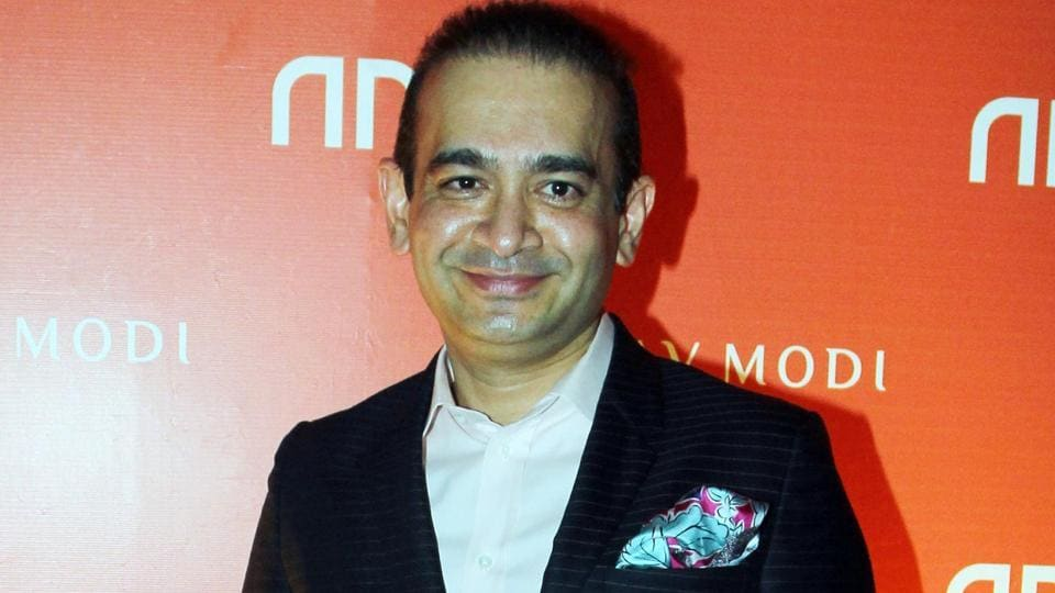 File photo of jeweller Nirav Modi during the launch of his store in Mumbai.