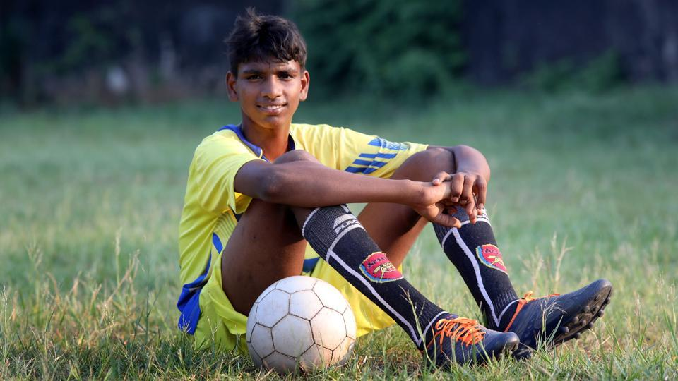 R Manikandan, a 14-year-old from Urchin, Kollam, Kerala who was selected for one-month training in  Real Madrid.