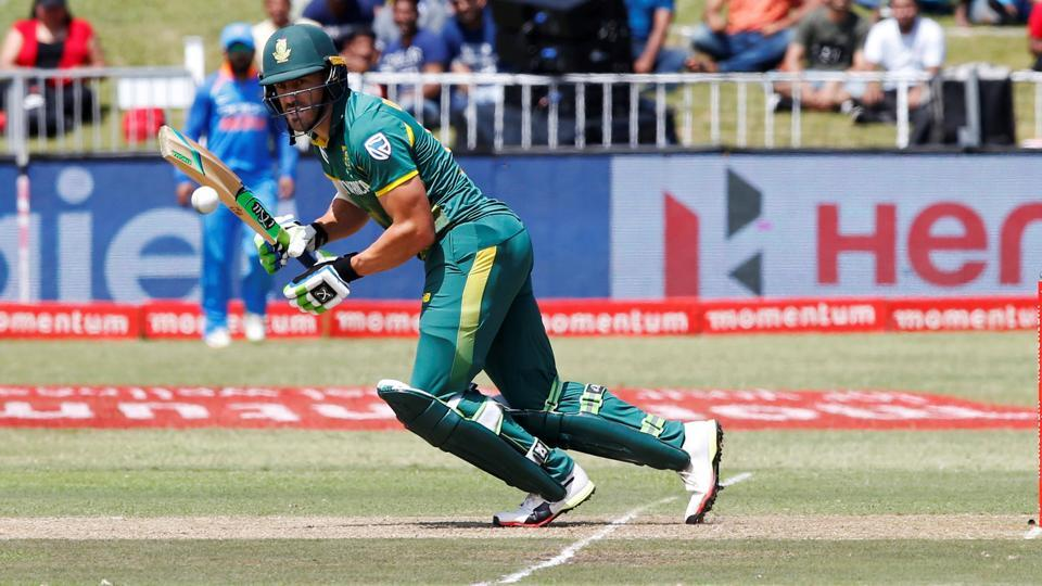 Faf du Plessis in doubt for first Test against Australia