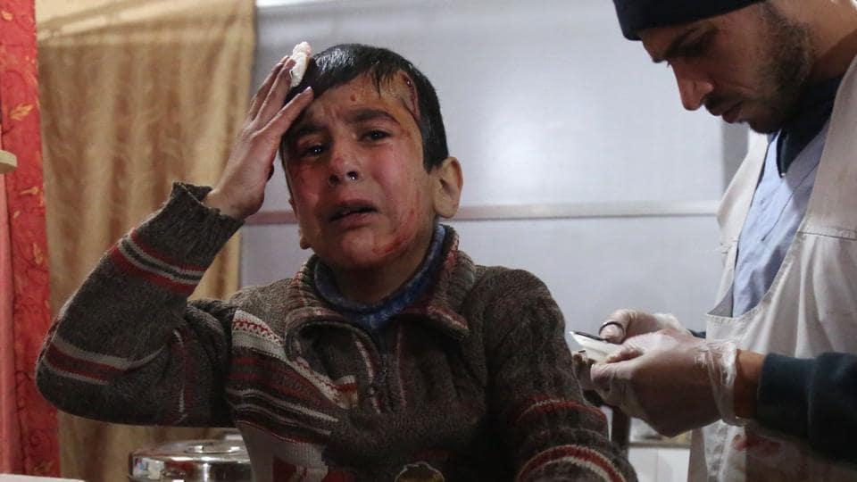 UNICEF,Syria war,Eastern Ghouta