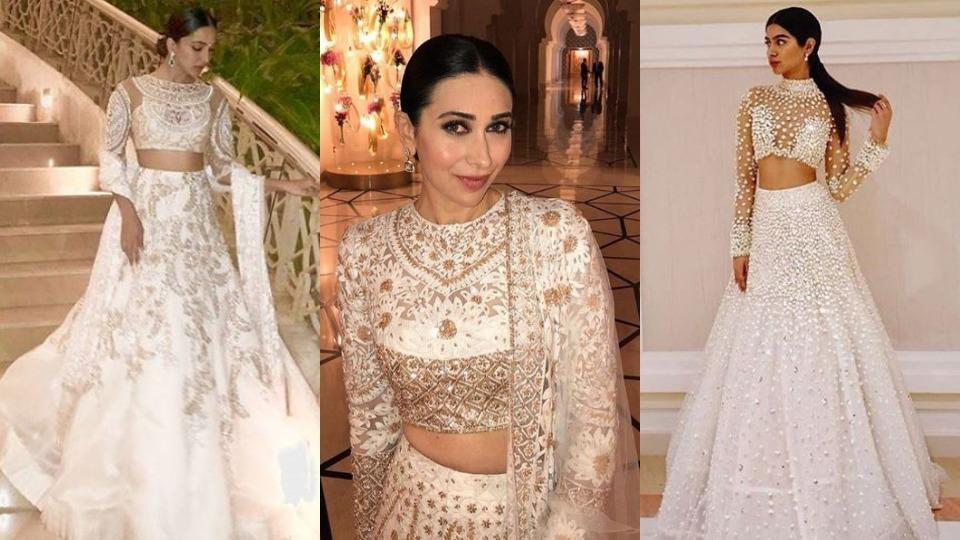 Khushi karisma kapoor kiara advani in manish malhotra how to look no further than these style stars and their styling tricks when choosing to wear junglespirit Image collections