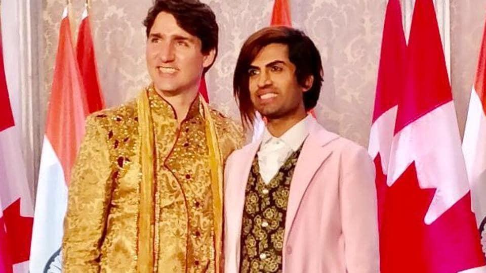 Sushant Divgikar,Justin Trudeau,Canadian PM