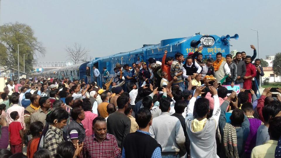 Broad gauge,Rajasthan,Tanakpur