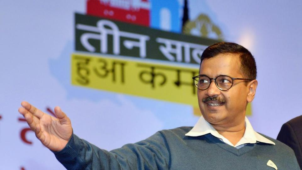 A file picture of Delhi chief minister Arvind Kejriwal