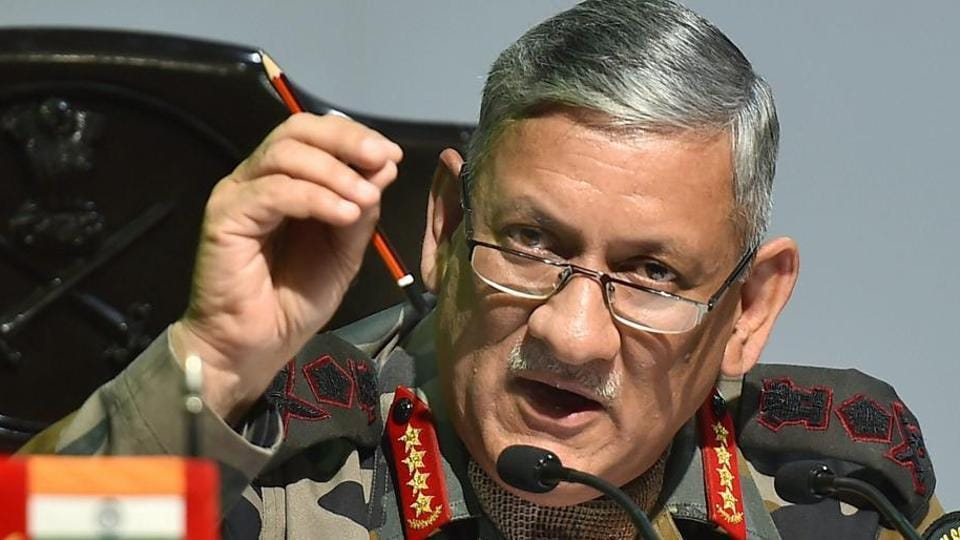 'Bangladeshi influx' Pakistan's proxy war: Indian army chief