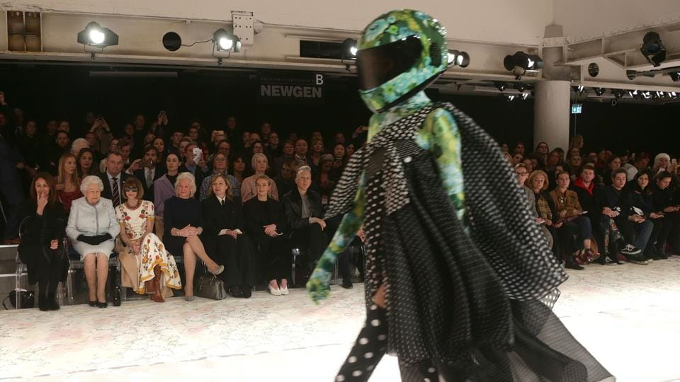 Christopher Bailey's goodbye as the head of Burberry, Christopher Kane's prints of women having orgasms and flamboyant balloon headdresses were among the highlights of London Fashion Week, which wrapped up on Tuesday.