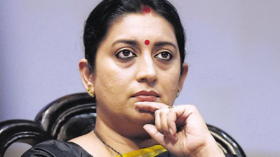 I&Bminister Smriti Irani. IISassociation has said recent transfers by the ministry are in contravention of laws.