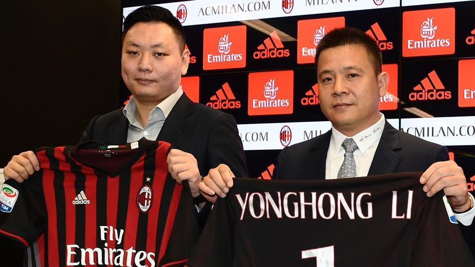 AC Milan,Li Yonghong,Serie A