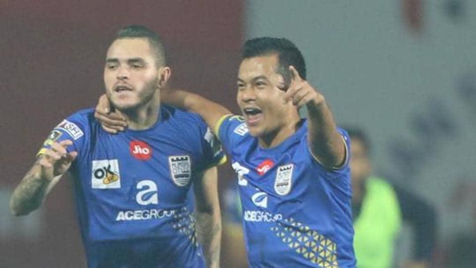 Mumbai City FC,NorthEast United FC,Indian Super league