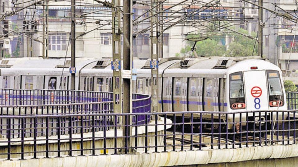 Delhi Metro,Blue Line,Metro delayed