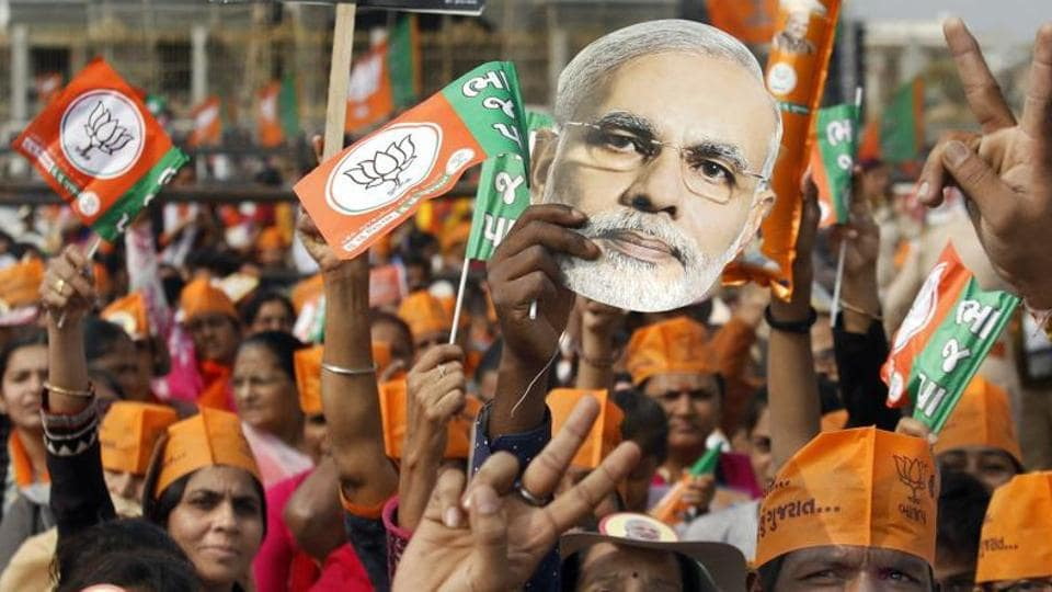 The controversy has struck the BJP at a time when it has suffered an electoral loss in Rajasthan and West Bengal